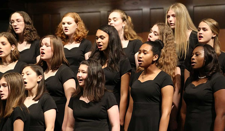 Lillian Lee founded the Mississippi Girlchoir in her living room in 1995, with just 17 participants. The program has grown in numbers as high as 120. Photo courtesy Kathryn Rodenmeyer