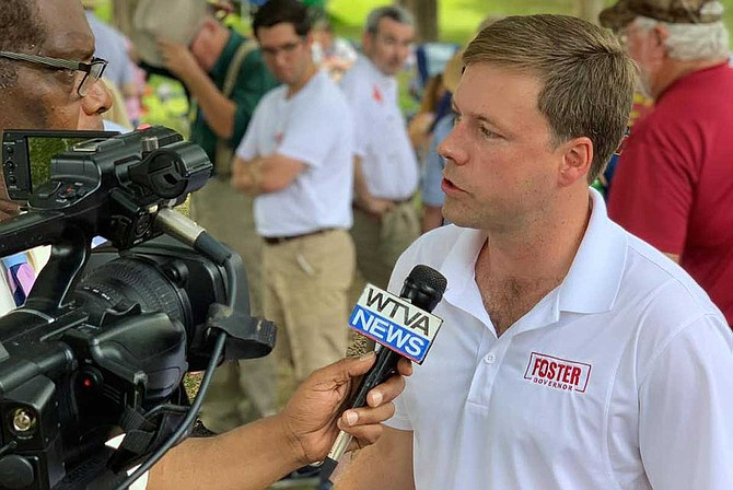 Rep. Robert Foster says he denied a woman reporter equal access to his campaign because he does not want people to think he's having an affair. Many of his supporters, though, think it's about striking back at #MeToo. Photo courtesy Foster Campaign