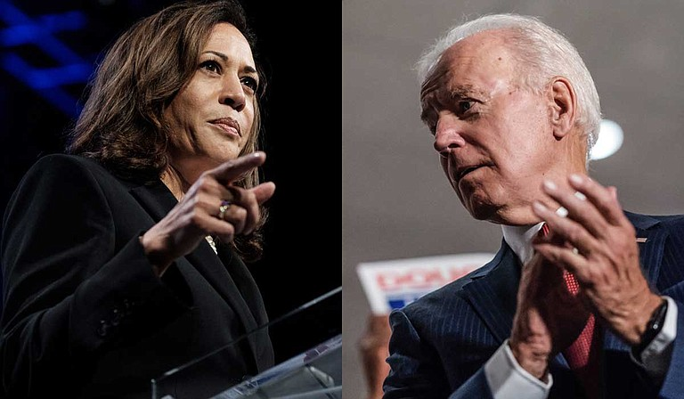 U.S. Sen. Kamala Harris brought 1970s era busing into the Democratic presidential debate when she criticized former Vice President Joe Biden for his past opposition to the civil rights era program.