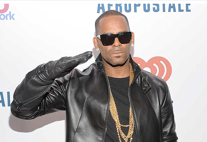 The arrest was the second time this year that R. Kelly has been taken into custody in Chicago on sex charges. He was arrested in February on 10 counts in Illinois of sexually abusing three girls and a woman. He pleaded not guilty to those charges and was released on bail. Photo courtesy Jon Palmer/MediaPunch, Inc.