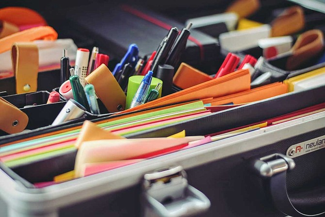 News outlets report school supplies are officially on the tax exemption list for the holiday, which is on July 26 and 27. All clothing, footwear and school supplies under $100 can be purchased minus the 7% state sales tax. Photo by Tim Gouw on Unsplash
