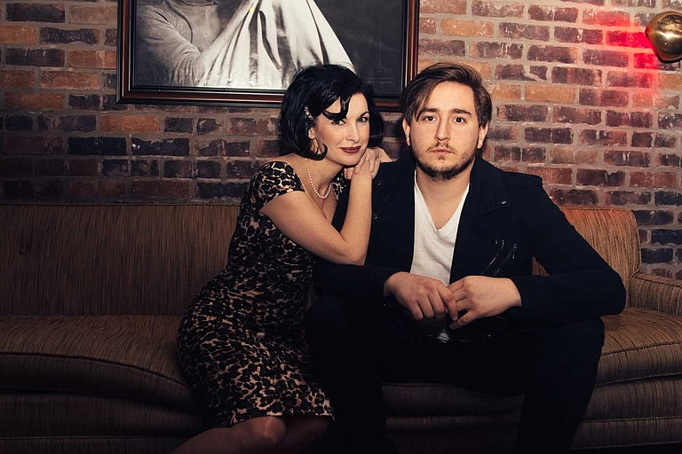 Stephanie Adlington and Aaron Lessard will perform at Duling Hall on Friday, July 26. The doors open at 6 p.m., and the show begins at 8 p.m. The cover charge is $10. Photo courtesy Southern Siren Entertainment