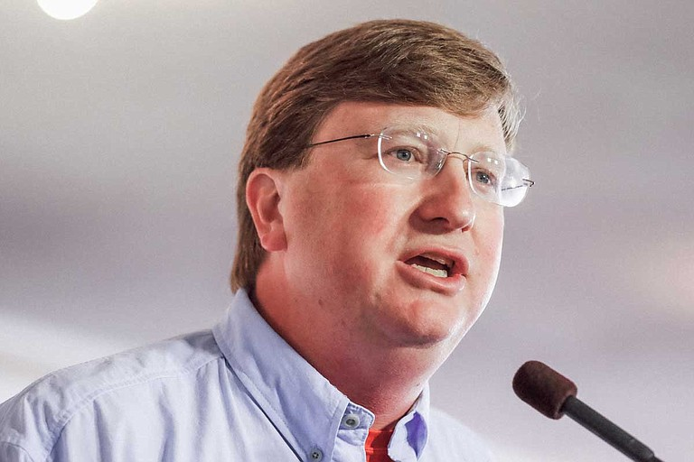 Mississippi Lt. Gov. Tate Reeves, a Republican candidate for governor, has millions more than his closest competitors in the GOP primary. Photo by Ashton Pittman