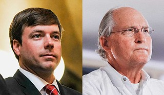 Mississippi House. Rep. Robert Foster (left), a former 2019 candidate for governor, plans to endorse ex-opponent Bill Waller (right) on Aug. 13 for the Republican Party runoff. Photo by Ashton Pittman