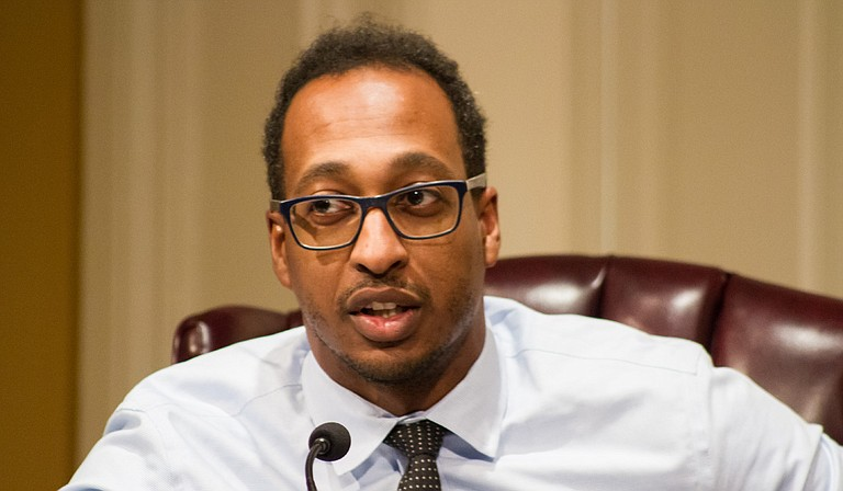 Ward 2 Councilman Melvin Priester said at the Aug. 20 Jackson City Council meeting that administrative hearings for water- and sewer-bill complaints offer more structure and professionalism for handling the matter. Photo by Stephen Wilson
