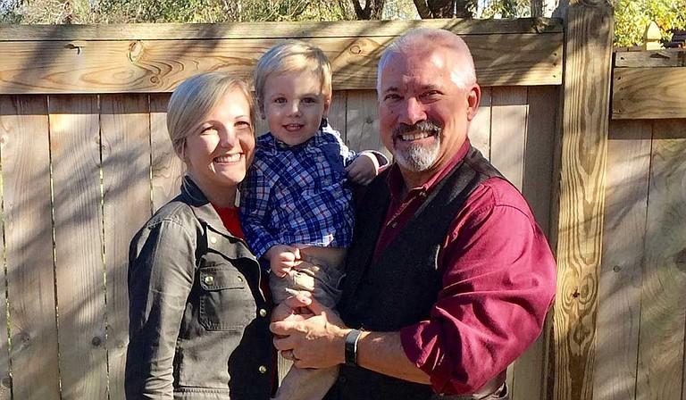 Ken Slay (right) with his daughter, Mae Slay (left) and grandson Slay Hendley (center) Photo courtesy Ken Slay