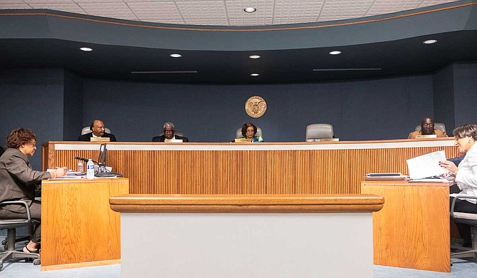 The Hinds County Board of Supervisors approved an order to dispose of files from both its office and County Administrator's office dating from 1984 to 2007 during a Sept. 16, 2019 meeting. Photo by Seyma Bayram.
