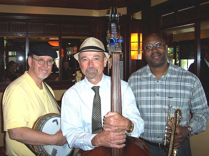From left: Tim Avalon, Bob Pieczyk, Terry Miller are the Big Easy Three. Photo courtesy Big Easy Three
