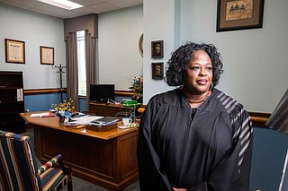 Before she was elected Hinds County Circuit Court judge, Faye Peterson served as Hinds County district attorney from 2001 to 2007. Photo by Seyma Bayram