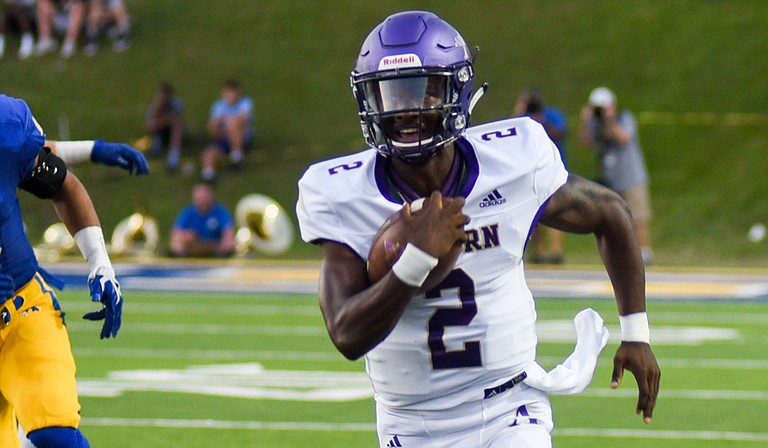 Junior quarterback Felix Harper leads Alcorn State University during the 2019 college football season while starting quarterback Noah Johnson is injured.
