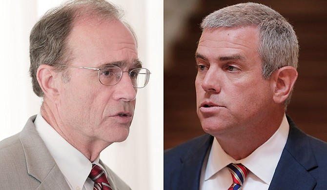 The lawsuit was filed May 30 against two Republican officials—Secretary of State Delbert Hosemann (left), who is Mississippi's top elections officer, and House Speaker Philip Gunn (right). Photo by Imani Khayyam