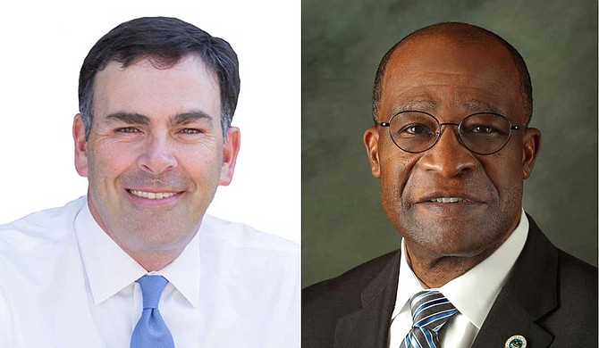 Under current Mississippi law, absentee voting is limited to people who have a temporary or permanent disability, are at least 65 years old or will be out of town on Election Day. Republican secretary of state nominee Sen. Michael Watson (left) said he sees no need to change the system, while the Democratic nominee, former Hattiesburg Mayor Johnny DuPree (right), said he supports expansion of early voting to get more people involved in the election process. Photos courtesy Michael Watson for SOS Campaign/Johnny Dupree