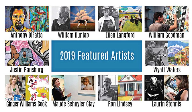 Mississippi Heritage Trust's 20th-annual auction will include art pieces from 10 Mississippi artists, each of which illustrates one of the 10 most endangered historic places in Mississippi for 2019. Photo courtesy Mississippi Heritage Trust