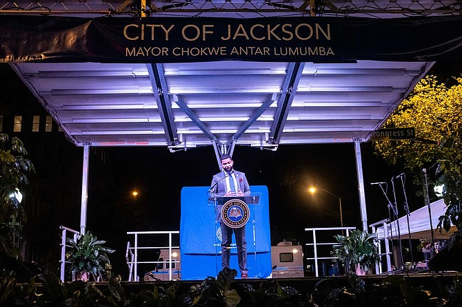 In his third State of the City Address, Mayor Chokwe A. Lumumba vowed to continue fighting corruption while celebrating wins for public schools, infrastructure and more. Photo by Seyma Bayram