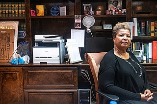 Michele Purvis Harris has advocated for pay equality with the DA's office throughout her tenure as Hinds County public defender. She retires Dec. 31. Photo by Seyma Bayram