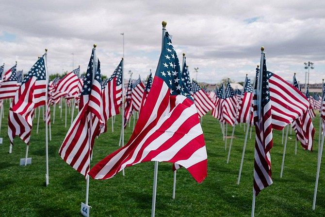 Mississippi State University holds a series of Veterans Day events. Photo by Wesley Tingey.
