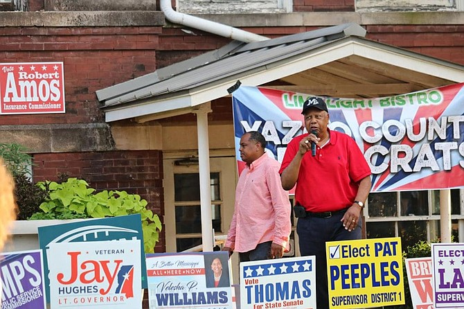 Democrat Joseph Thomas narrowly won the Mississippi Senate District 22 race on Tuesday night after a court ordered it to be redrawn, finding that it amounted to an illegal racial gerrymander meant to dilute black voting strength. Courtesy of Joseph C. Thomas for State Senate.