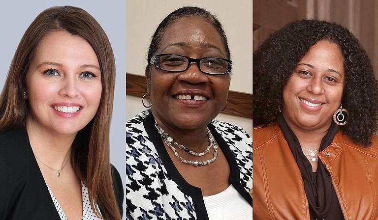 From left: Shanda Yates, Hester Jackson and Zakiya Summers. Courtesy of Shanda Yates campaign, courtesy Hester Jackson campaign, photo by Imani Khayyam.