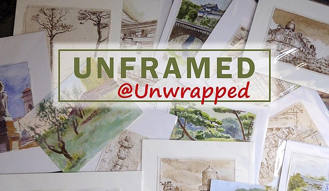 Art Space 86 will host a free, pop-up art gallery event, Unframed @Unwrapped, on Thursday, Nov. 14, from 11 a.m. to 9 p.m., located at The Flamingo JXN. Photo courtesy Unframed @Unwrapped