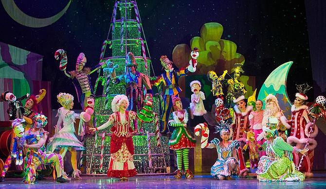 Cirque Dreams Holidaze, part of Cirque Du Soleil, will perform in Jackson. Photo courtesy Cirque Dreams Holidaze