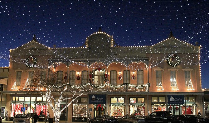 The City of Canton hosts its annual Christmas festival throughout the season. Photo courtesy Canton Christmas Festival