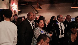 A white Democratic woman says she feels more welcome among the state's black Democrats than the white ones who are timid. Sometimes, they are even disrespectful toward black voters. Photo by Arielle Dreher