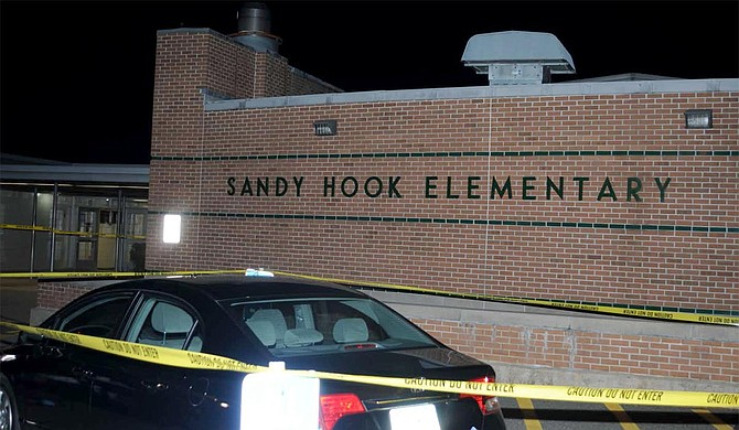 The Supreme Court said Tuesday a survivor and relatives of victims of the Sandy Hook Elementary School shooting can pursue their lawsuit against the maker of the rifle used to kill 26 people. Photo courtesy Department of Emergency Services and Public Protection