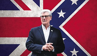 """""""This is Great Britain, and it's going to be Great Again."""" — Gov. Phil Bryant in Washington, D.C. Photo by Ashton Pittman"""