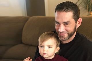 Jeremiah Blanchard and his son, Gabriel Photo courtesy Jeremiah Blanchard