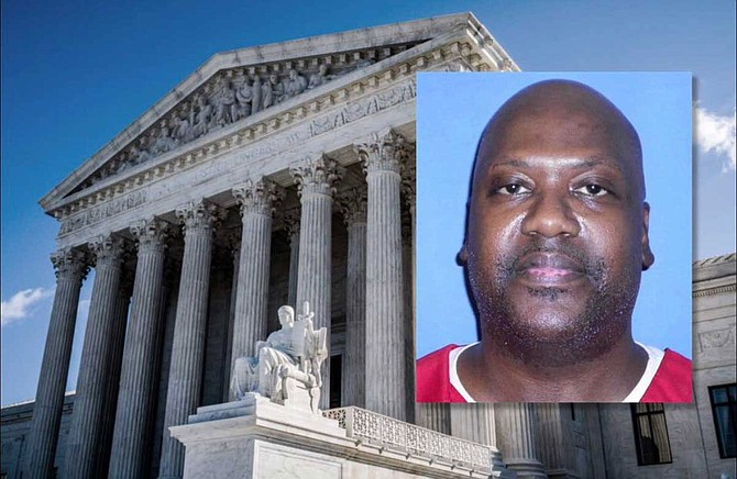 The lawsuit against District Attorney Doug Evans is an outgrowth of a case where the U.S. Supreme Court overturned a murder conviction of an African American man named Curtis Flowers (pictured), citing racial bias in jury selection. Photo courtesy Phil Roeder (Creative Commons)/MDOC