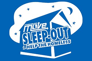 The purpose of the 6th Annual Sleep-Out to Help the Homeless event is to assist the Capital's City displaced community by being present with them during their time of need and connecting them to various resources and other compassionate hands. Photo courtesy Sleep-Out to Help the Homeless