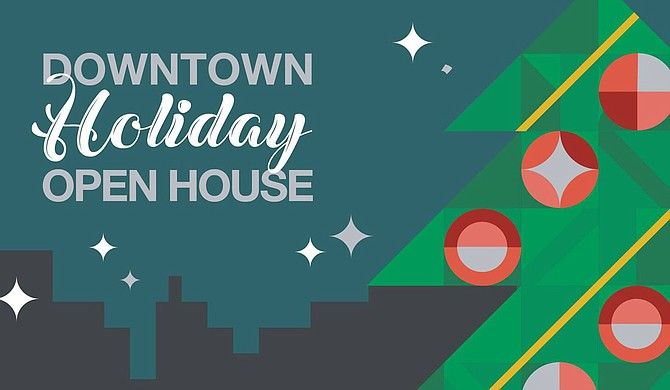 TeamJXN—along with Downtown Jackson Partners, Visit Jackson, the Mississippi Museum of Art, Thalia Mara Hall, the Greater Jackson Arts Council and The Westin Jackson—hosts Downtown Holiday Week from Dec. 3 to Dec. 8. Photo courtesy Downtown Holiday Open House