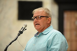 """Wayne Kuhn still cannot vote—even though his record was expunged in December 2017. """"I no longer have a criminal record here in the state of Mississippi but I still cannot vote,"""" Kuhn says. Photo courtesy Southern Poverty Law Center"""