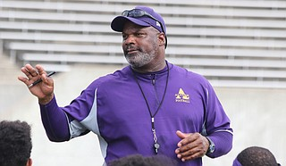 McNair leads the Braves to a 8-3 overall record and 6-1 record in SWAC play and a sixth straight East title this year. Courtesy Alcorn Athletics.
