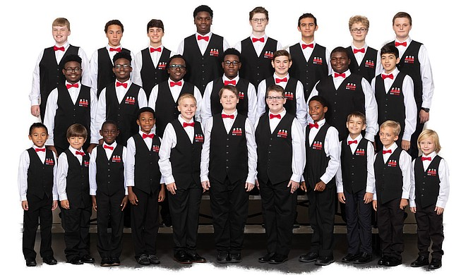 "The Mississippi Boychoir prepares for its annual holiday concert, ""Tidings of Comfort and Joy."" Photo courtesy Joe Ellis"