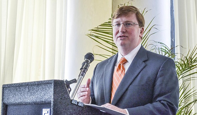 """We wanted to be conservative in our budgeting, but we also wanted to recognize that there will be new leadership. ... We wanted to give both the Senate and the House maximum flexibility going into the 2020 legislative session, and that's exactly what we did,"" Tate Reeves said. Photo by Amile Wilson"
