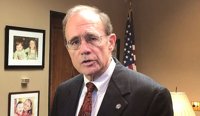Mississippi Lt. Gov. Delbert Hosemann, who will become the new lieutenant governor and Senate president next month, told reporters Tuesday that he is looking at options for expanding Medicaid in Mississippi. Photo by Nick Judin