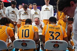 USM Coach Jay Ladner Photo courtesy University of Southern Mississippi Athletics