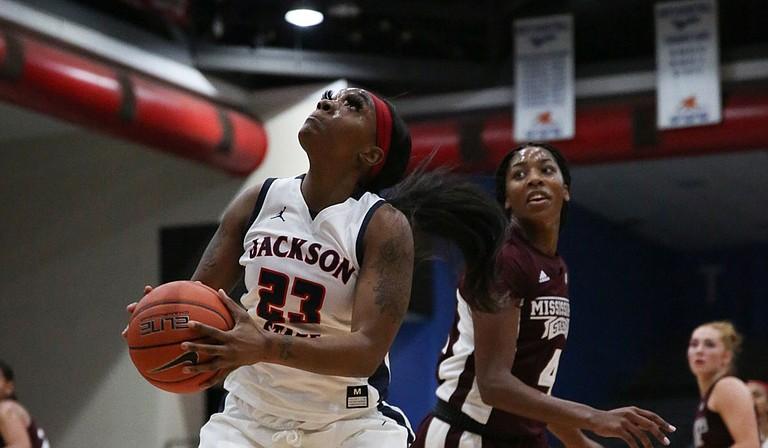 JSU's Marneisha Hammer Photo courtesy Jackson State University Athletics