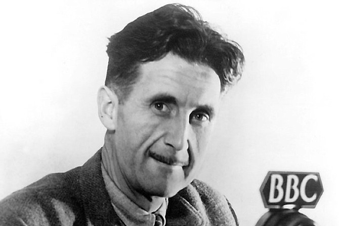 """George Orwell's """"1984"""" has a certain poignance for today's world, especially as """"alternative facts"""" proliferate and actual facts do down a """"memory hole"""" like they're papers being shredded. Photo courtesy BBC/Public Domain"""