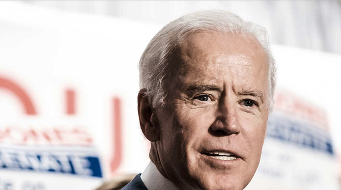 The House of Representatives impeached Donald Trump in December for abusing the power of his office by enlisting the Ukrainian government to investigate Joe Biden (pictured), a political rival, ahead of the 2020 election. A second charge accused Trump of obstructing a congressional investigation into the matter. Photo by Ashton Pittman