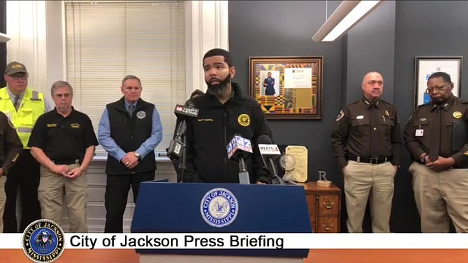 Mayor Chokwe A. Lumumba warned residents to steer clear of flood waters and avoid driving around or removing barricades as the city experiences severe flooding. The National Weather Service in Jackson declared a flash-flood emergency in the Jackson metro area, effective until 11:15 p.m., Jan. 14.