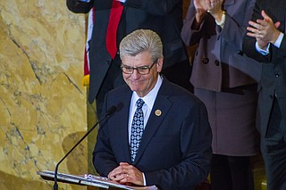 Former Mississippi Gov. Phil Bryant is joining a consulting firm founded by an attorney who had been his chief of staff. Photo by Stephen Wilson