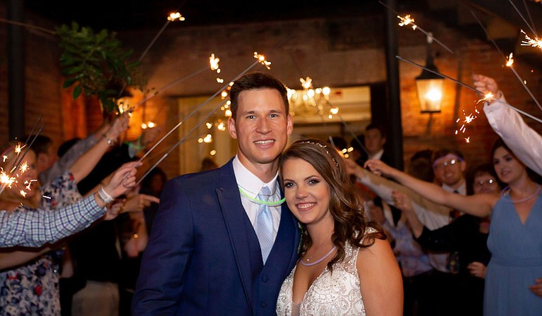 Casey and Anna Spell Photo courtesy Jonathan Wright Photography