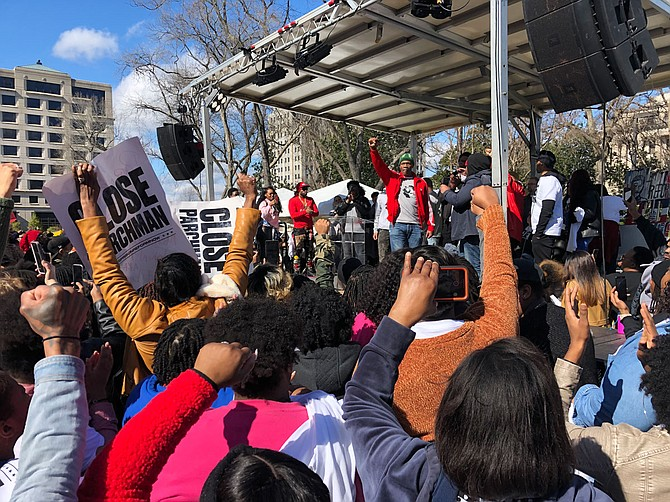 "Columnist Adofo Minka argues that recent prison-reform rallies at the Mississippi Capitol were anything but radical and more ""akin to being for a Middle Passage with more efficient plumbing."" Photo by Seyma Bayram"