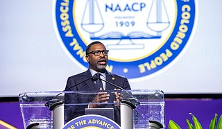 National NAACP President Derrick Johnson is pushing back on President Donald Trump's attempt to buy black voters and garner their support. Photo courtesy NAACP