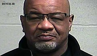 William Bynum Jr., 57, was among more than a dozen people arrested during the weekend in the Jackson suburb of Clinton, according to Clinton Police Chief Ford Hayman. Photo courtesy Clinton Police Department