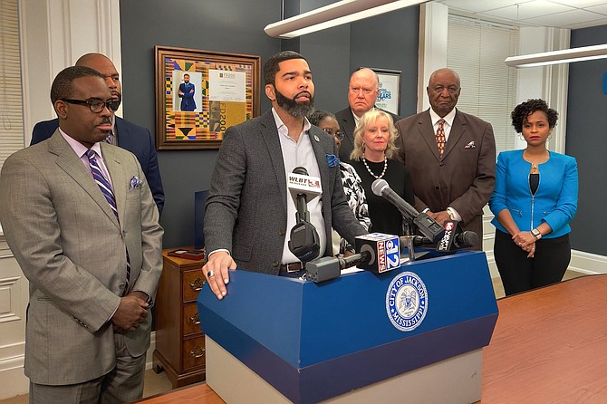 Jackson Mayor Chokwe Antar Lumumba announced that the City received an $89 million settlement from Siemens.