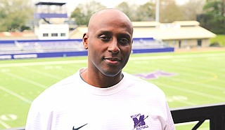 Millsaps College names Isaac Carter as its new head football coach after previous head coach. The Majors kick off their 2020 season on Sept. 3 against Belhaven University. Courtesy Millsaps Athletics. Photo by John Sewell.