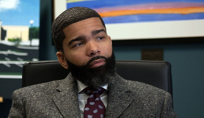 Columnist Adofo Minka argues that Mayor Chokwe A. Lumumba's allegations of corruption by black subcontractors is hypocritical based on his own administration's actions. Lumumba is pictured. Photo by Stephen Wilson